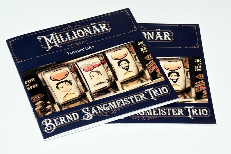 Bernd Sangmeister Trio - Booklet Millionär